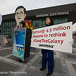 Dumping 4.3 million Samsung phones is an environmental disaster warns Greenpeace