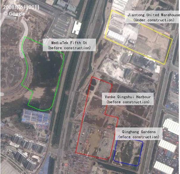 Tianjin blast update: satellite images of blast site