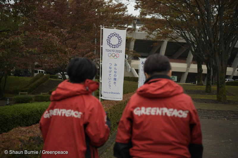 Greenpeace in Asia: Action in motion