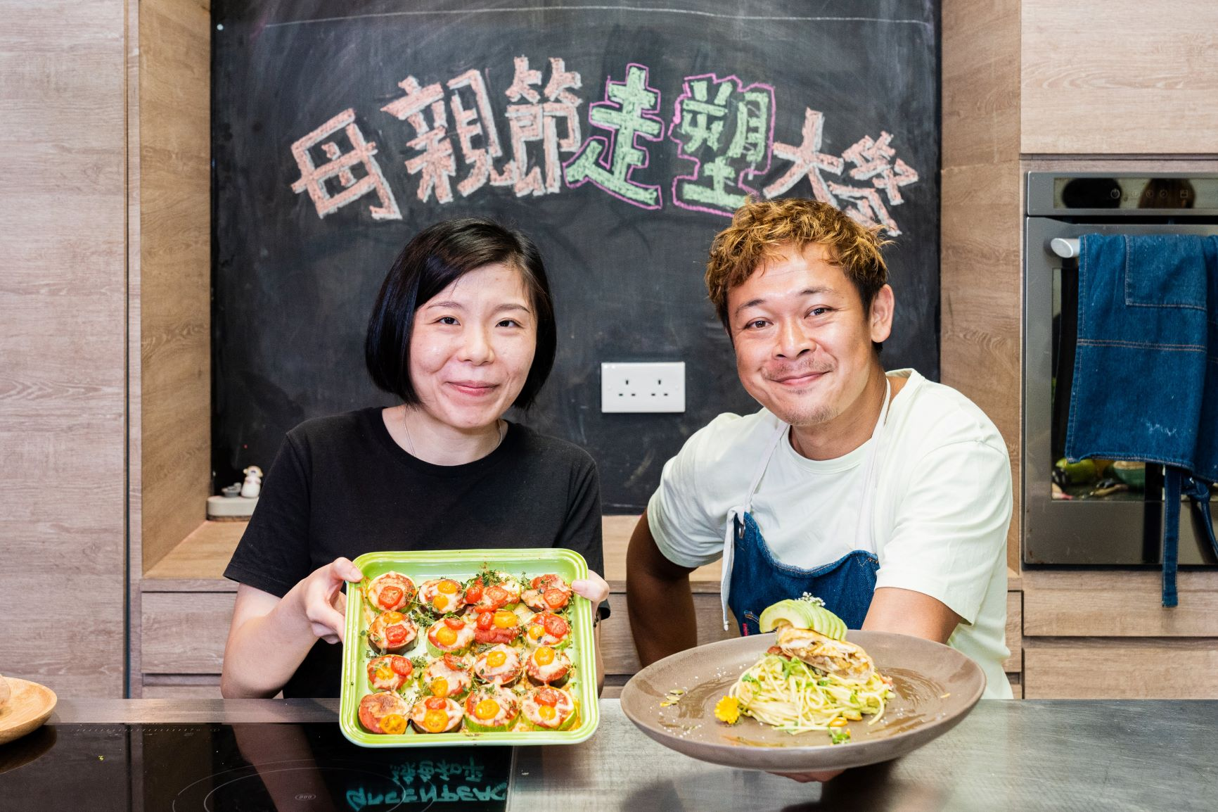 Joey Leung + Greenpeace's online cooking class: love to all mothers including Mother Earth