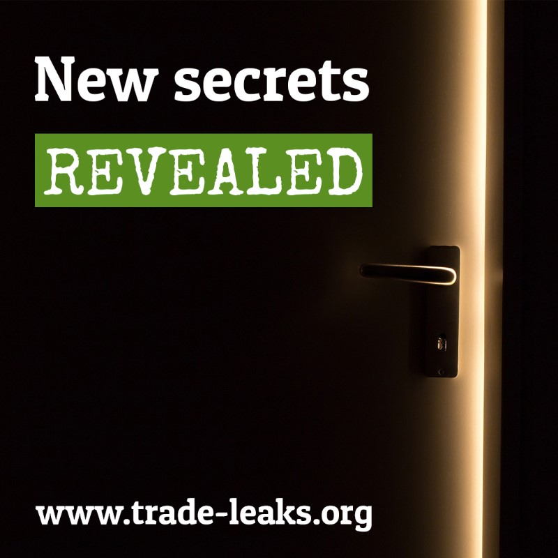 Leaked Trade Papers Greenpeace European Unit
