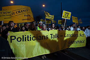 Politicians Talk - Leaders Act