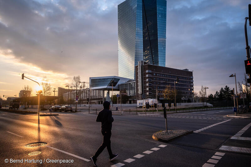 ECB injects over €7 billion into fossil fuels since start of COVID-19 crisis - Greenpeace European Unit