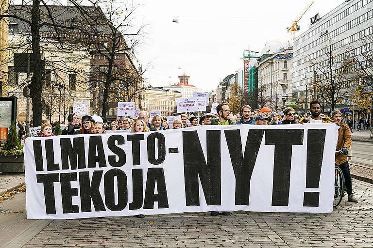 NowWeHaveTo - Climate March in Helsinki. © Jonne Sippola