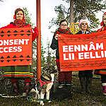 Jäämeren radan rakentaminen ihmisoikeussopimusten vastaista – Greenpeace tukee saamelaisyhteisöjä