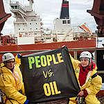 Aktivistit blokkasivat öljytankkerin Ruotsissa – suomalainen aktivisti pidätettyjen joukossa