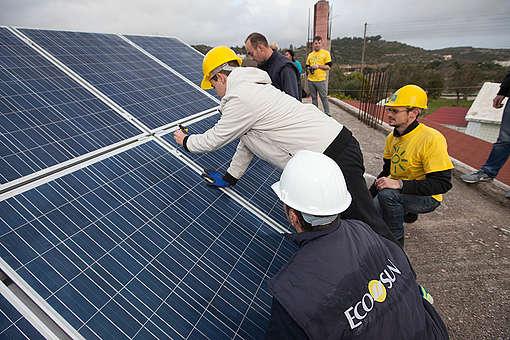 The Solarization of Greece. © Panos Mitsios
