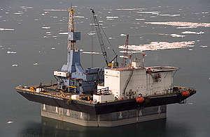 Platform, Drilling. © Greenpeace / Daniel Beltrá