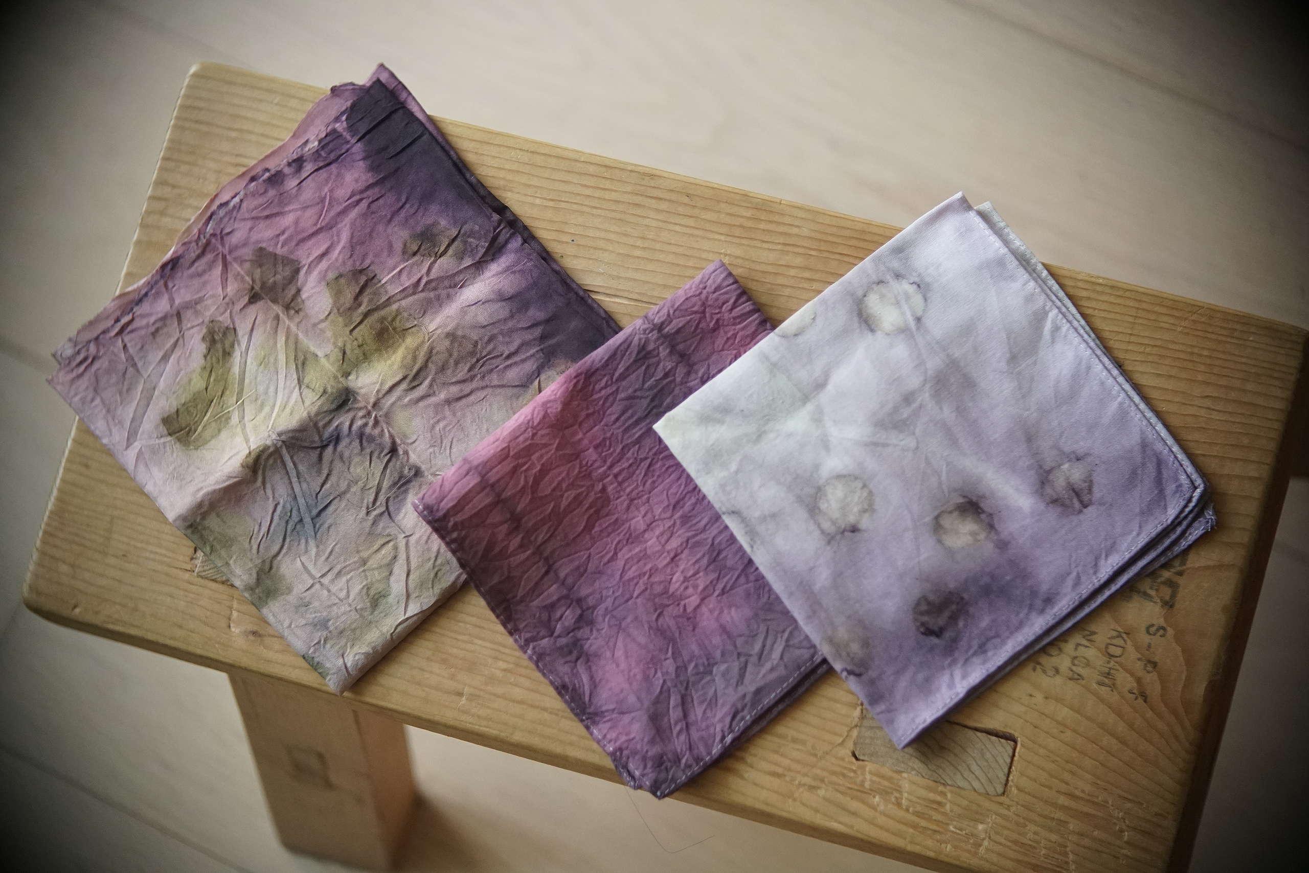 在天然染的世界,每一種顏色也得來不易,特別是紫色。©Wong Wing Fung