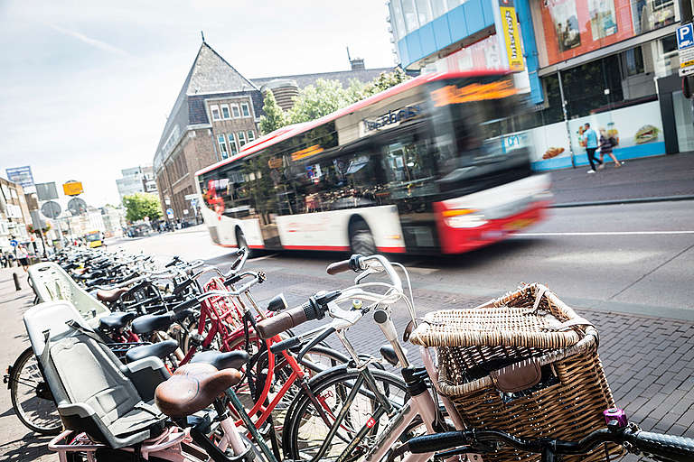 Urban Mobility and Transport in Utrecht. © Bernd Lauter