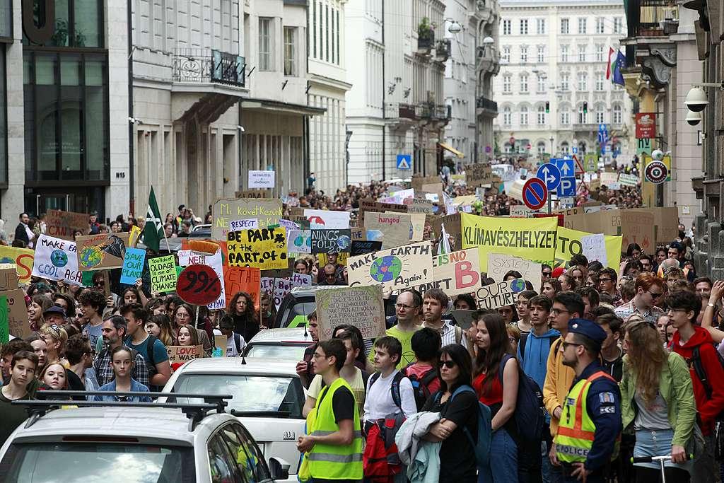 II. FFF Globális Klímasztrájk Budapesten