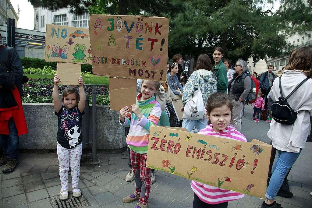 II. Globális Klímasztrájk Budapesten
