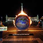 A Greenpeace klímavédelmet követel Magyarországnak