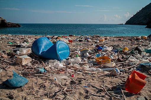 Plastic Brand Audit Activity in Greece. © Constantinos Stathias / Greenpeace