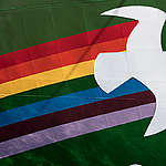 Rainbow Warrior in Baltimore. © Eric Spiegel / Greenpeace