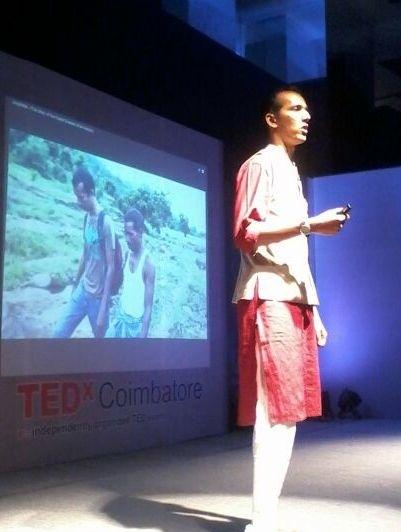 Brikesh at Tedx