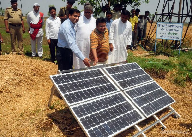 Solar PV Pump set demonstration in Bihar