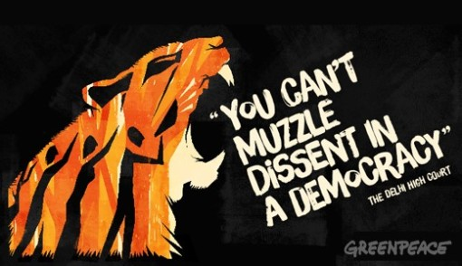 You can't muzzle dissent in a democracy