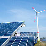 "Energy Community ""Saerbeck"" in North Rhine-WestfaliaEnergie-Kommune Saerbeck in Nordrhein-Westfalen"
