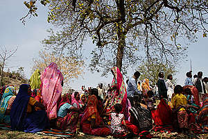 Dih Baba Puja Festival at Mahan Forest in India. © Vinit Gupta