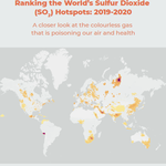 Ranking the World's Sulfur Dioxide (SO2) Hotspots: 2019-2020