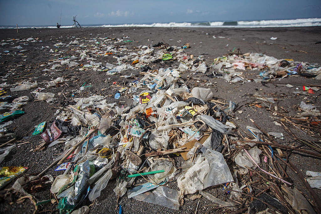 Plastic Garbage in Yogyakarta. © Boy T Harjanto