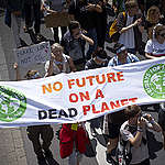"""International """"Fridays for Future"""" Demonstration in Aachen. © Anne Barth / Greenpeace"""