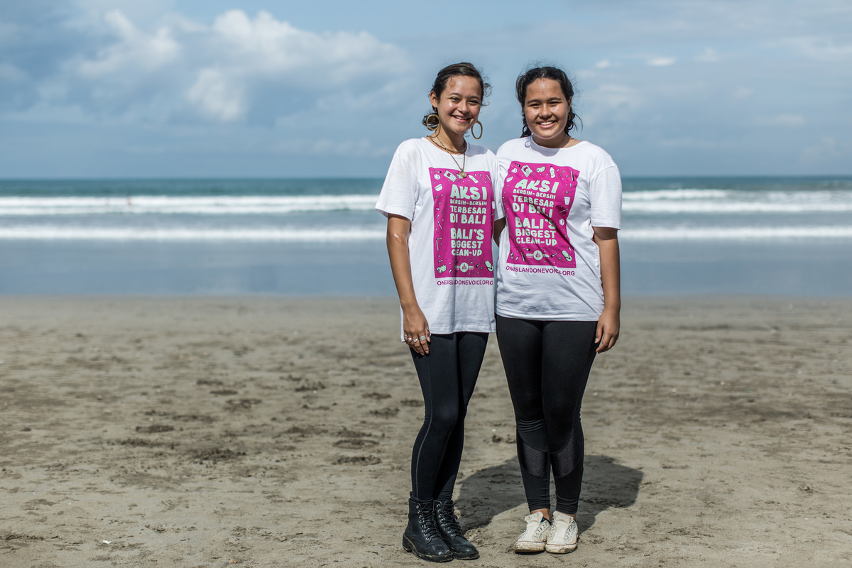 One Island One Voice Campaign in Bali. © Agung Parameswara / Greenpeace