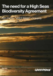 The need for a High Seas Biodiversity Agreement