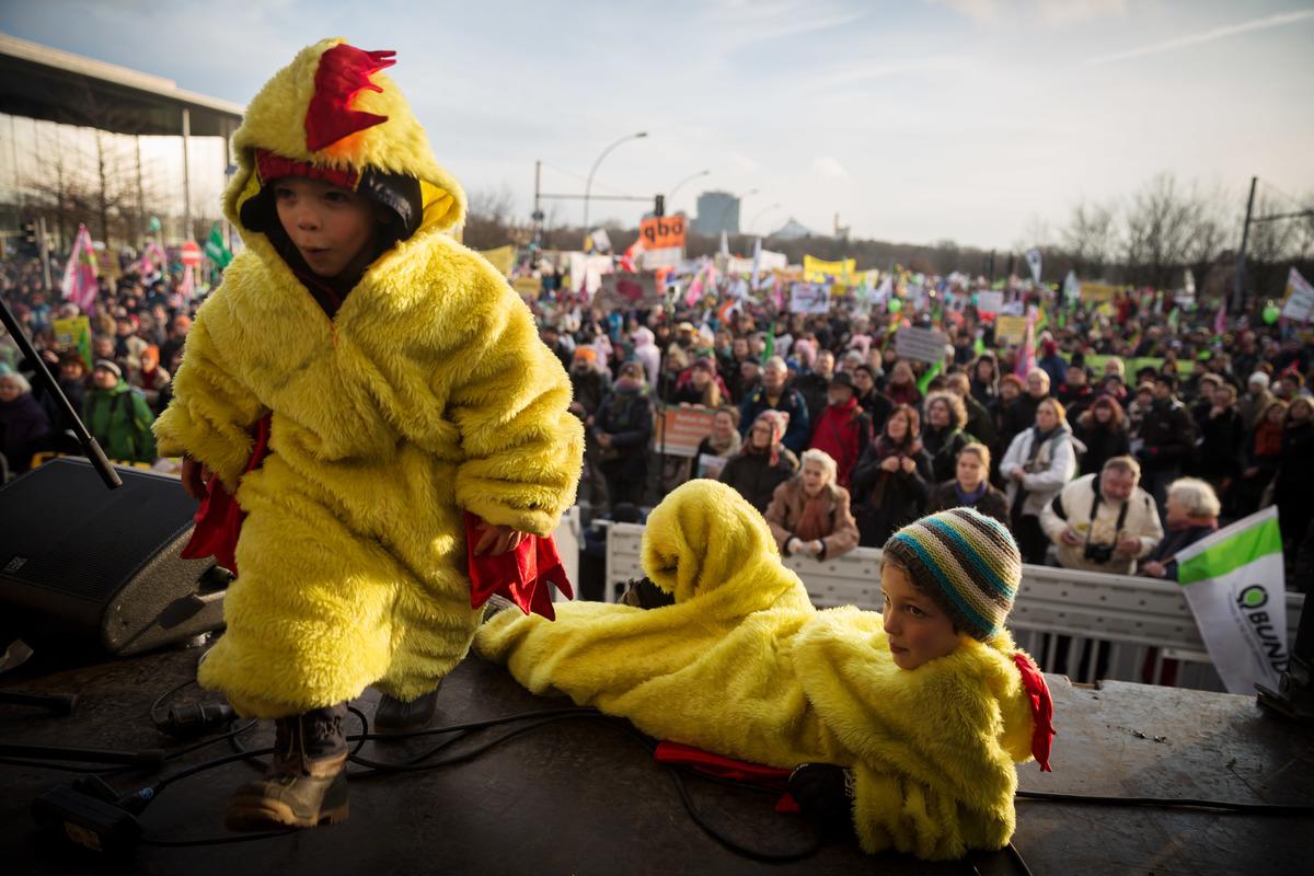 TTIP Demonstration in Berlin © Gordon Welters / Greenpeace