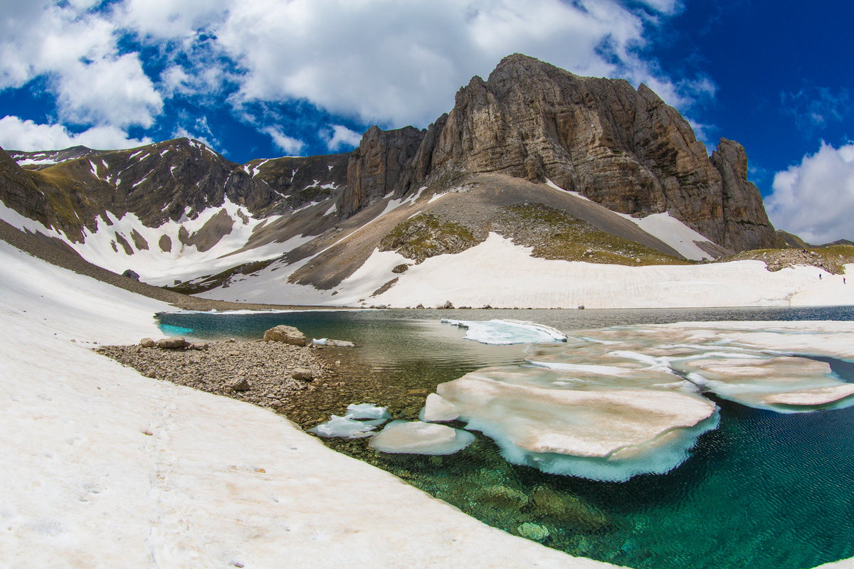 Expedition to Pilato Lake in Italy to Detox the Great Outdoors © Roberto Isotti / Greenpeace