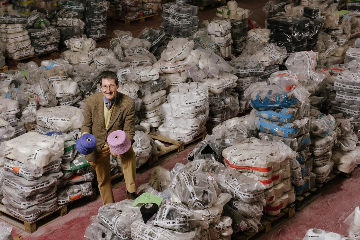 Italy's Textile District Pledges to Detox Prato © Andrea Guermani / Greenpeace