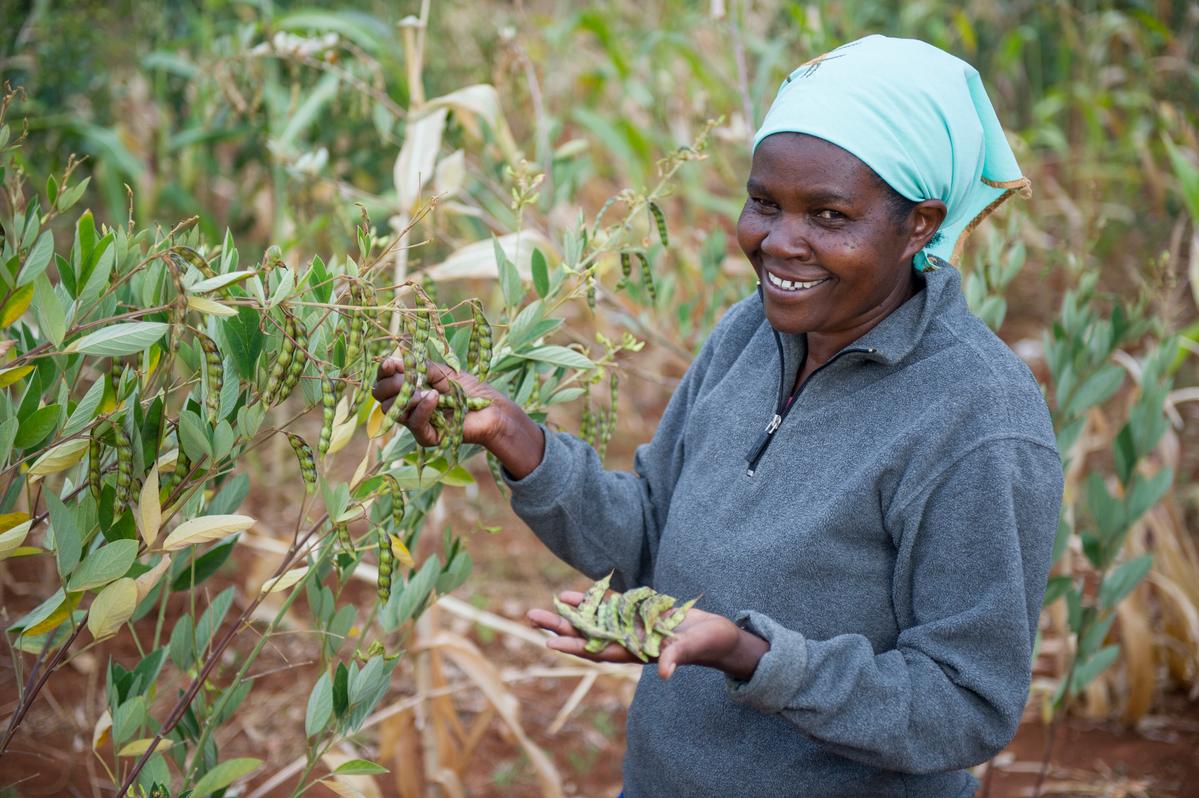 Ecological farmer in Kenya © Cheryl-Samantha Owen