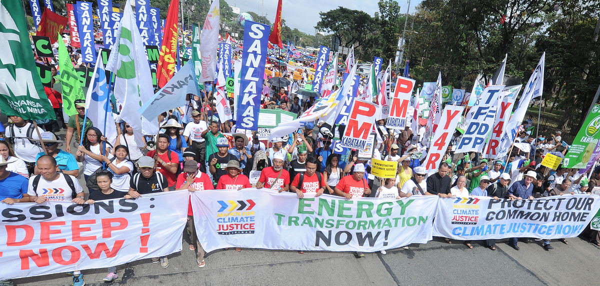 COP21: Climate March in the Philippines ©Jed Delano / Greenpeace