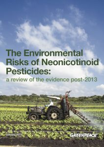 environmental risks of neonicotinoid pesticides