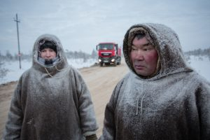 Road Construction on Indigenous Ancestral Land in Russia © Alexey Andronov / Greenpeace