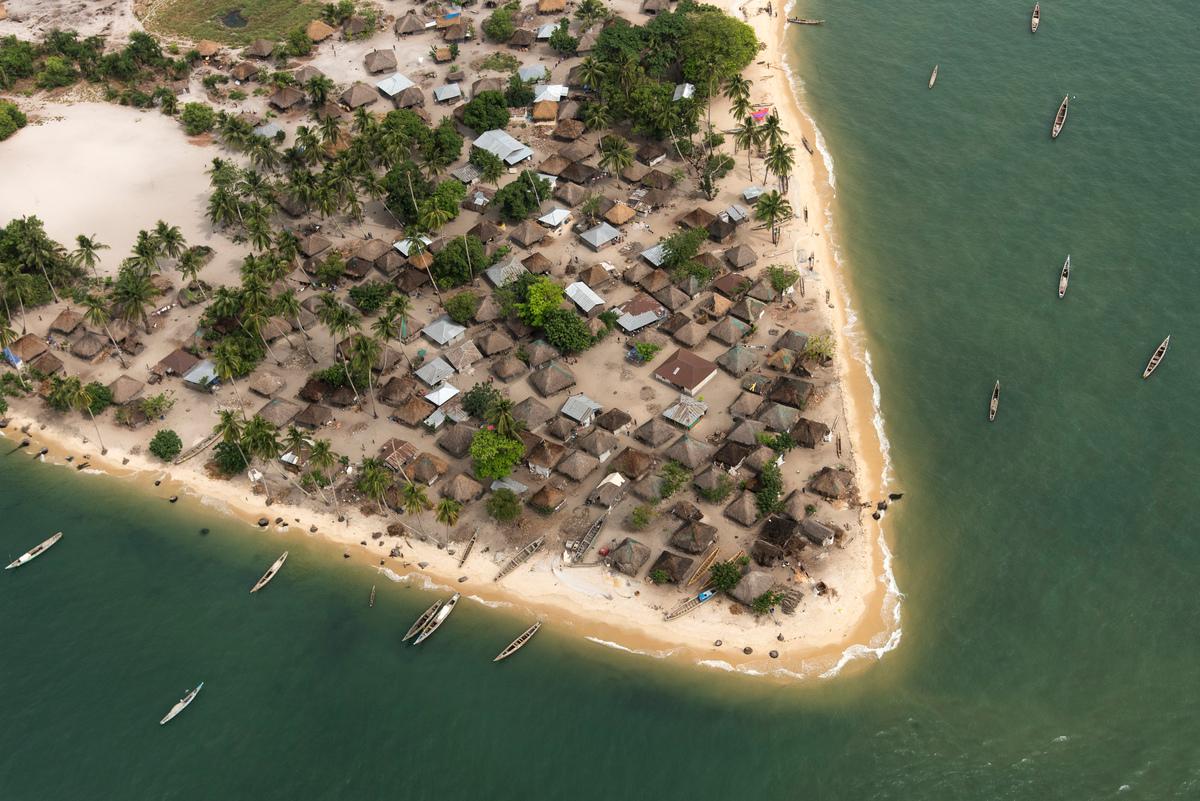 Turtle Islands in Sierra Leone © Pierre Gleizes / Greenpeace