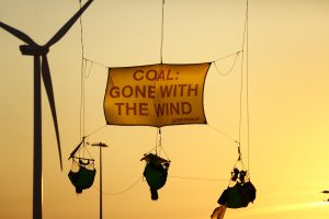Activists Block Entrance to RWE Coal Plant in Eemshaven © Bas Beentjes / Greenpeace