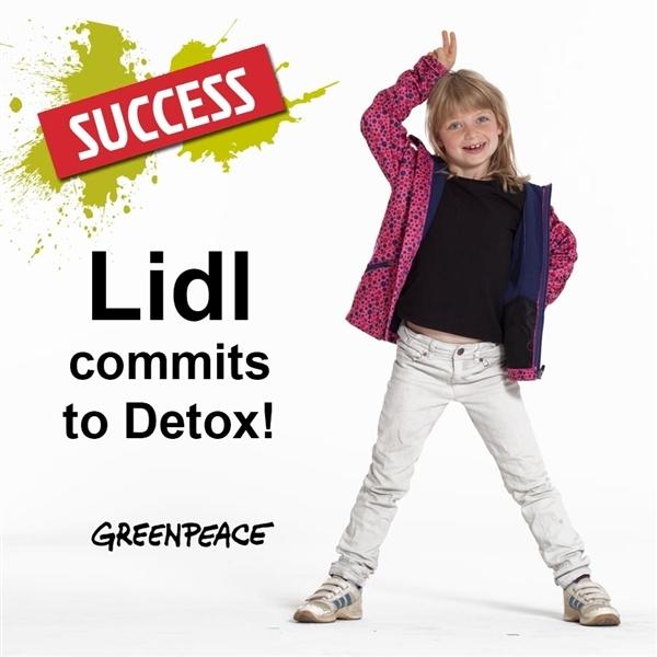 Lidl commits to Detox