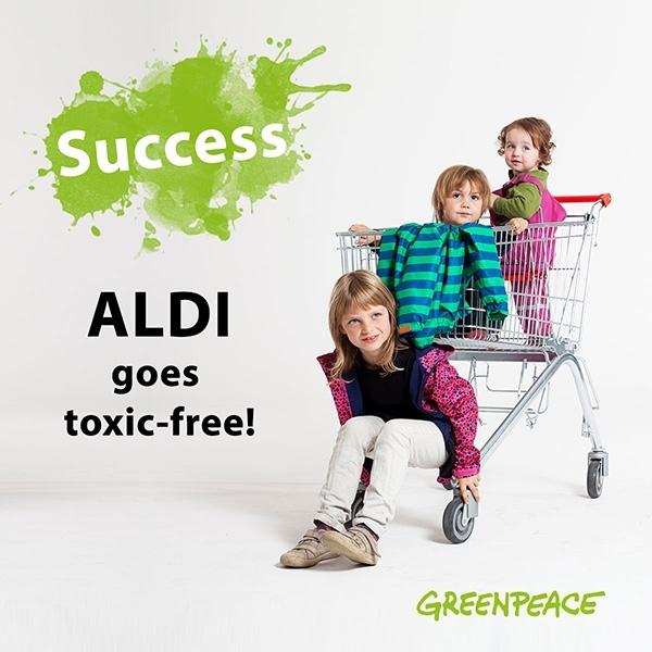 Aldi commits to Detox