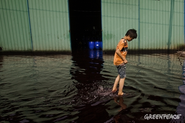 Wastewater in Guangdong Province © Lu Guang / Greenpeace