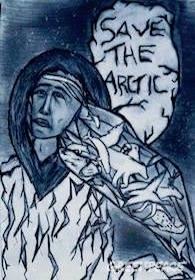Arctic poster competition winner. 2016 © Emile Maheu / Greenpeace