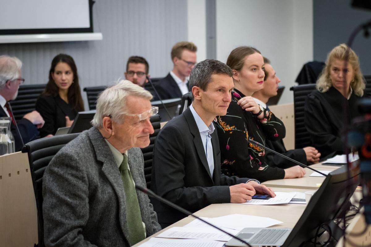 People vs Arctic Oil Court Case in Oslo - Day 1 © Edward Beskow / Greenpeace