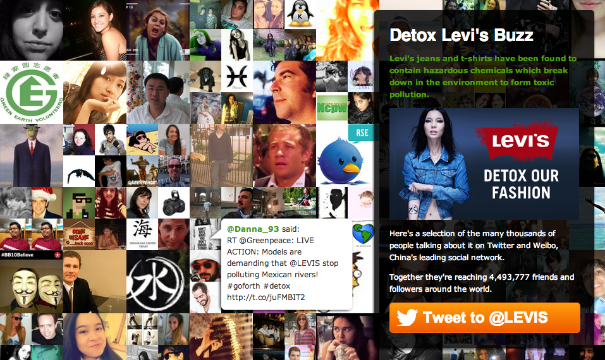 The Levi's hashtag #GoForth really took off this month, but not exactly as Levi's predicted