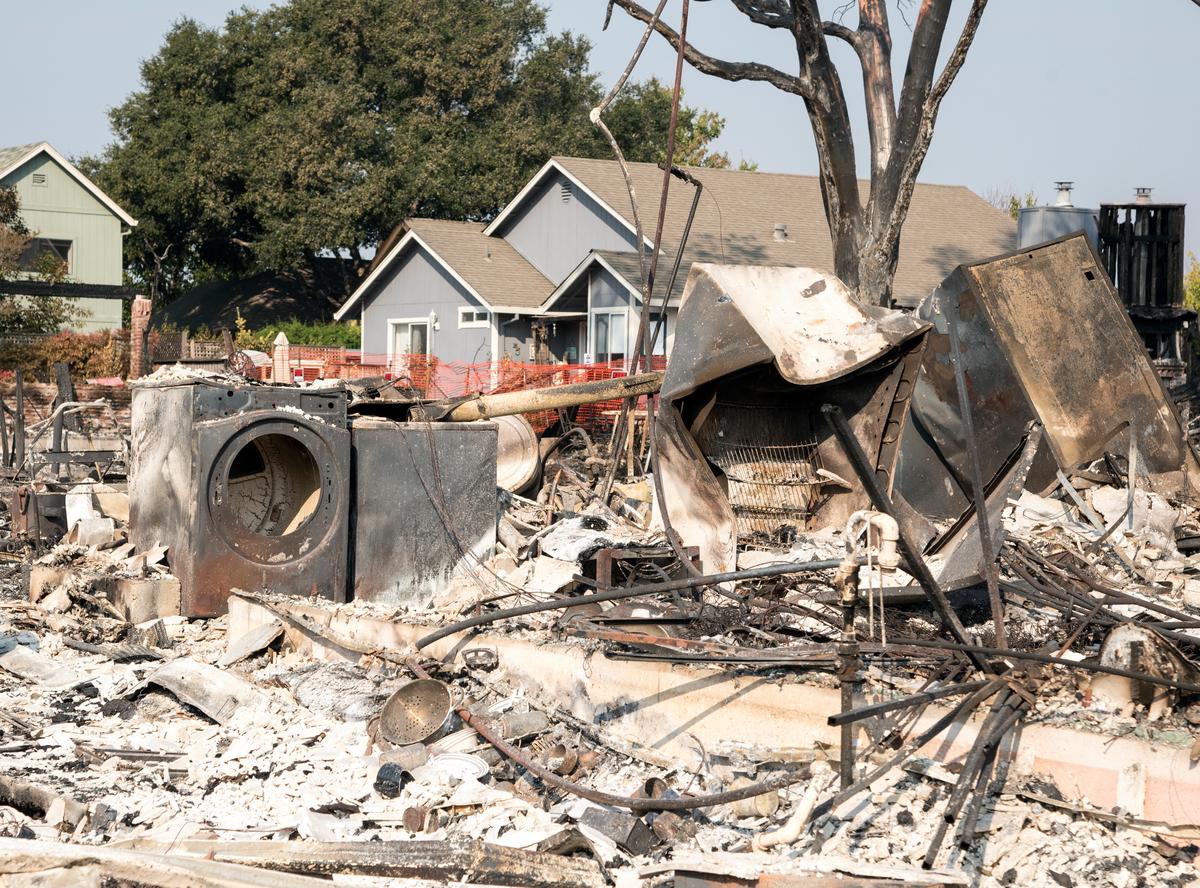 Santa Rosa Fire Devastation