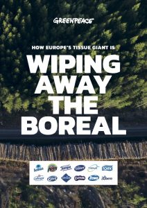 Wiping Away the Boreal @Greenpeace