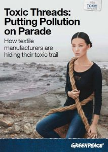 Toxic Threads: Putting Pollution on Parade