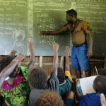 Tavolo Community School in Papua New Guinea. © Greenpeace / John Novis
