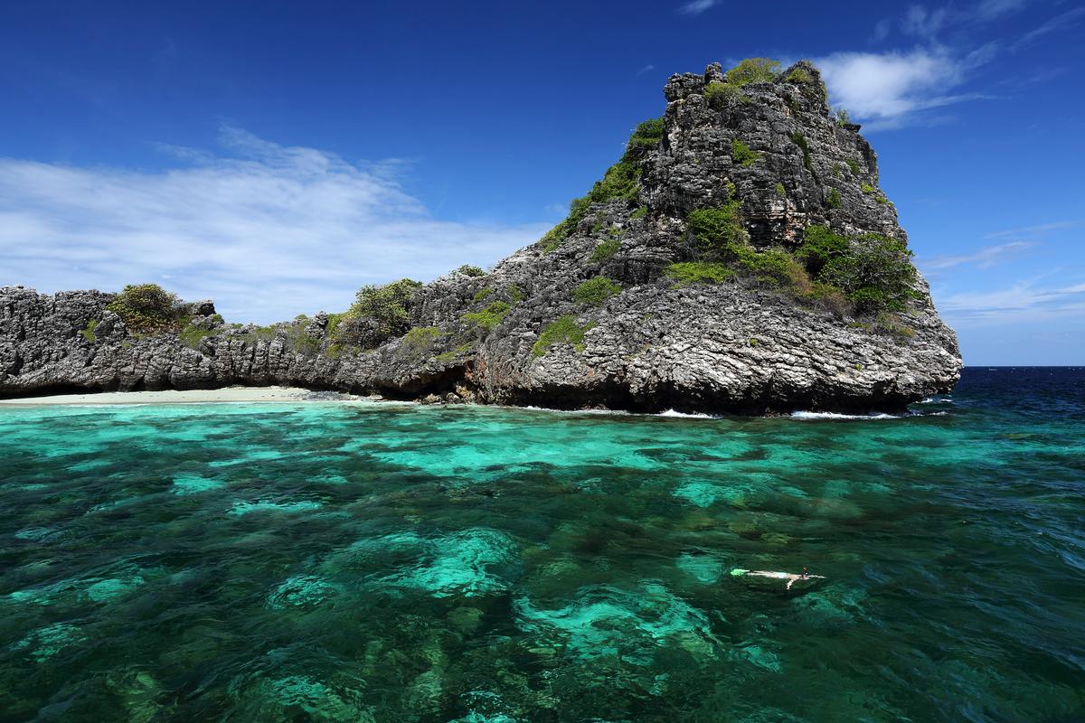 Lanta Marine National Park in Haa Yai Island, Krabi, Thailand © Baramee Temboonkiat