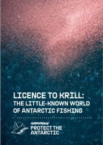 Licence To Krill report cover